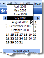 Outlook Skip To Another Month In The Calendar Cybertext Newsletter