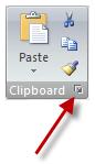 Dialog Box launcher button