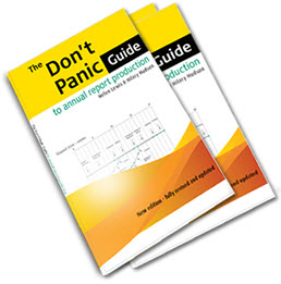 The Don't Panic Guide to annual report production