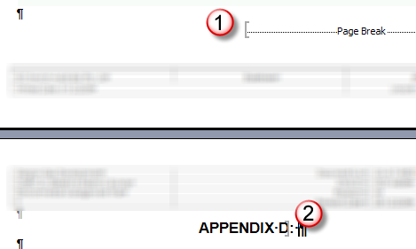 how to add cross reference in word