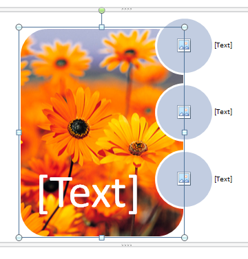 Word 2010 step by step smartart cybertext newsletter navigate to the image you want select it then click insert i used the garden image in the sample pictures folder well get rid of the text later ccuart Images