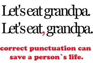 Importance of a comma