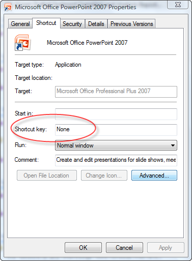 windows open any program with a shortcut key cybertext newsletter