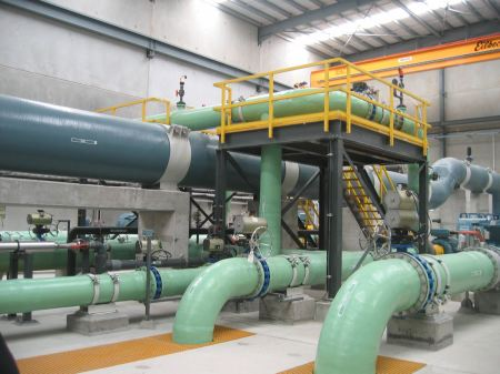 Color-coded piping
