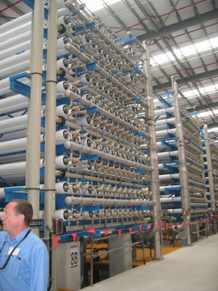 Reverse osmosis building
