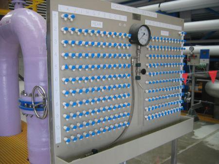 Reverse osmosis sampling station