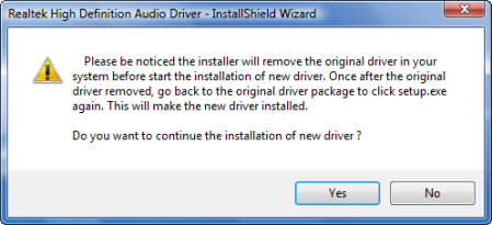 Confusing installation message
