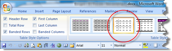 Word: Table borders don't hold   CyberText Newsletter