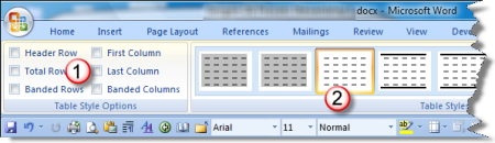 These check boxes were affecting the first row and all new rows