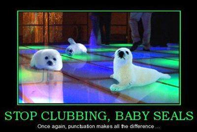 baby_seals?w=450 a light hearted look at how punctuation can change meaning