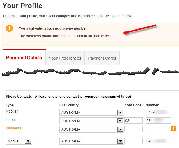 Qantas phone number in canada 411