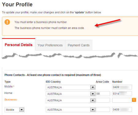 04. Qantas phone number