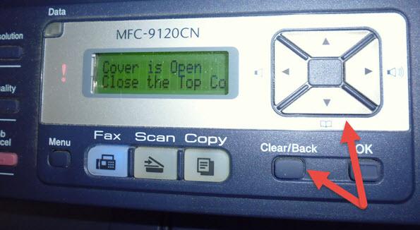 Stop brother laser printer replace toner message cybertext p1020468 fandeluxe Gallery