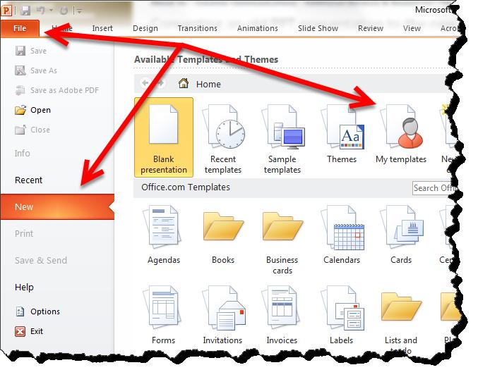 powerpoint apply a template cybertext newsletter