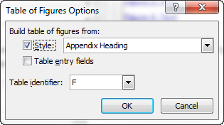 Word: Add a separate list of appendices | CyberText Newsletter
